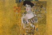 Gustav Klimt -  portrait Adel Bloh-Bauer I - 1907
