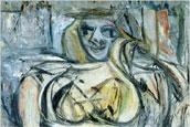 Villem de Kuning - Woman III - 1952-53