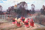 Степан Колесников. Праздник Святого Николая