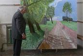 Валентин Михайлович рассказывает о своей картине